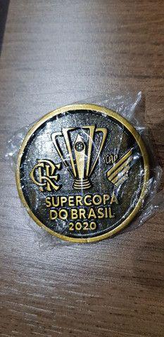 Moeda medalha Flamengo super copa - Foto 2