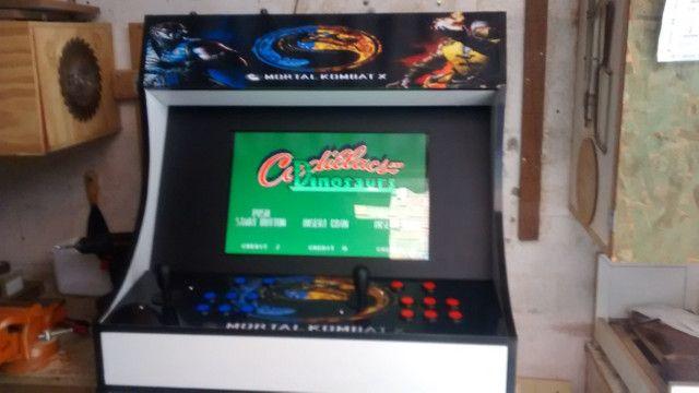 Fliperama arcade nova zero delay - Foto 5