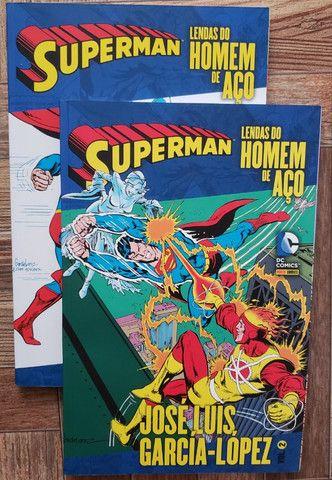 Superman Lendas Do Homem De Aço. História completa (Volumes 1 e 2)