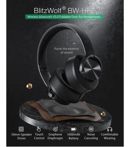 Fone De Ouvido Blitzwolf Bw-hp2 - Foto 3