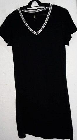 Vestido Preto Novo R$20 - Foto 2