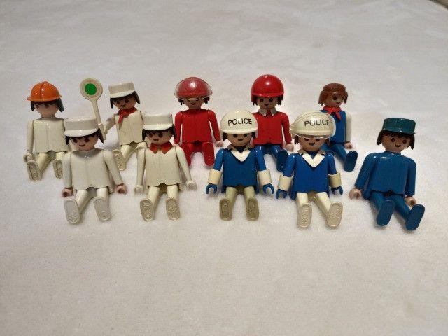 Kit Playmobil Trol Antigos, anos 1970, Caminhão, Carros, Polícia, Ferramentas - Foto 3