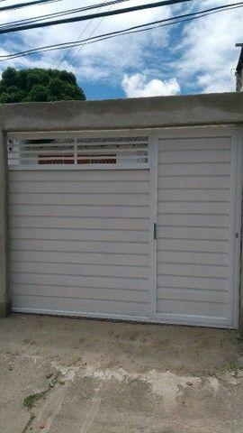 Portão alumínio branco r$399 o metro quadrado - Foto 6