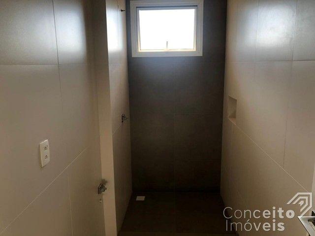 Apartamento à venda com 3 dormitórios em Jardim carvalho, Ponta grossa cod:392629.001 - Foto 14
