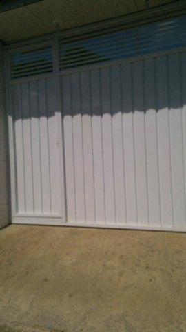 Portão alumínio branco r$399 o metro quadrado - Foto 4