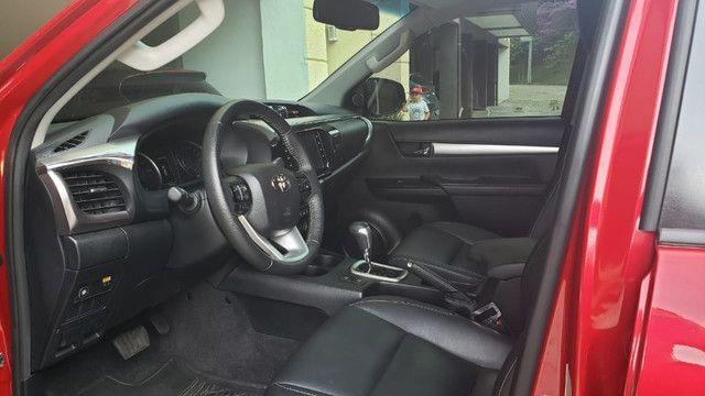Toyota Hilux SRV 4X2 - Flex + GVN - Foto 7