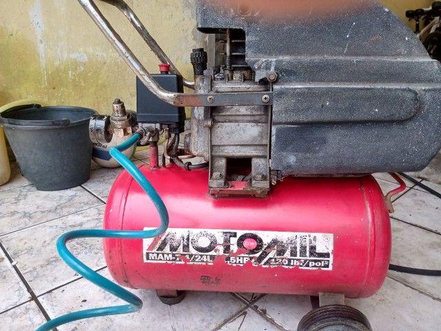 Compressor MOTOMIL 24L - Foto 2