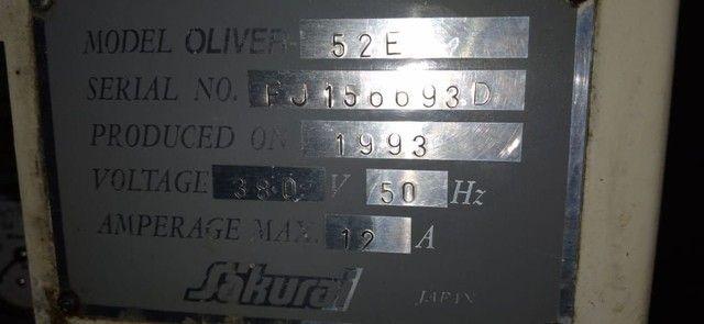Máquina Sakurai Automática Pneumática  - Foto 6