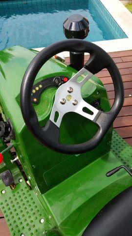 Mini Trator à Gasolina 110cc - Novo - Foto 3