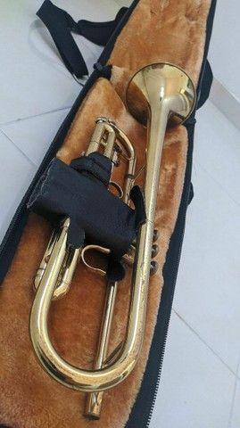 Vendo trompete em perfeito estado! - Foto 2