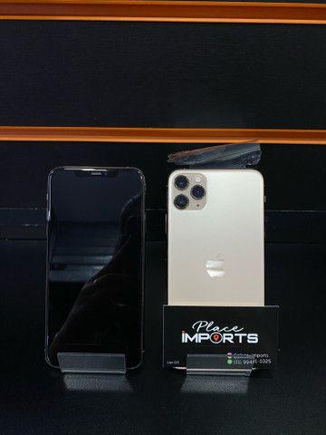 IMPERDÍVEL iPhone 11 Pro Max 256 gold, loja física  - Foto 3