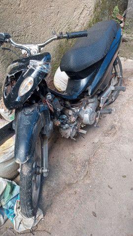 Vendo sondow web100cc, moto esta no 18 no verde placa mercolsul - Foto 4