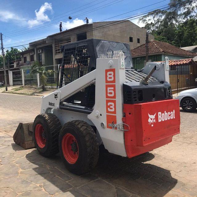 Mini Carregadeira Bob Cat 853 BOBCAT - Foto 3