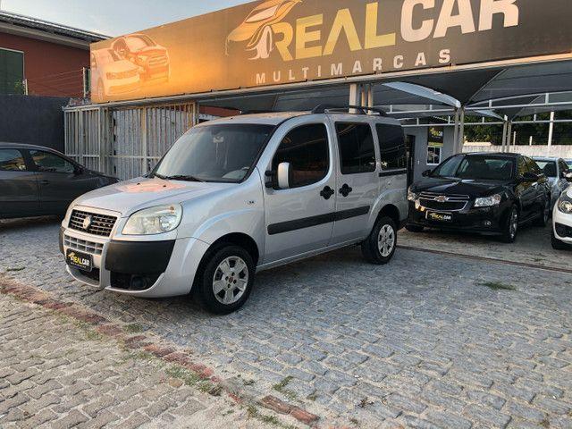 Fiat Doblò Essence 1.8 7 lugares 2012 completa Extra!!  - Foto 3