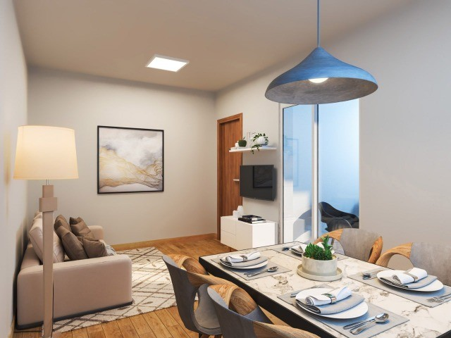Apartamento em Cidade Satélite - 2/4 - 48m² - Nova Amsterdã - Documentação Grátis - Foto 6