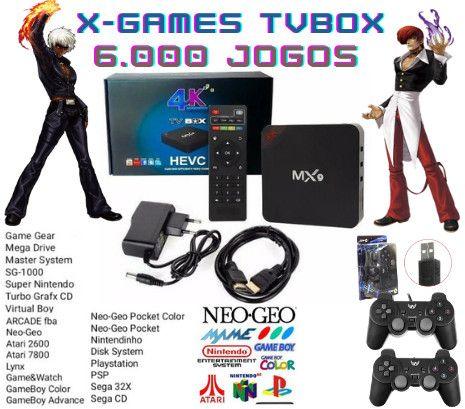TV Box com jogos Arcade - Foto 2