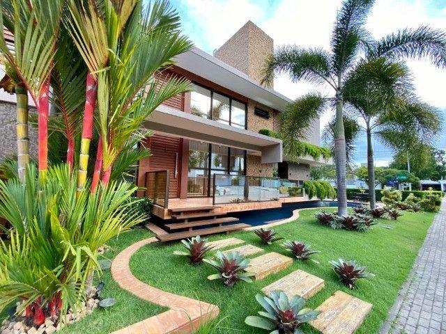 Casa belíssima a venda no Bosque das Gameleiras - 04 suítes - 538m - Luxo! - Foto 2