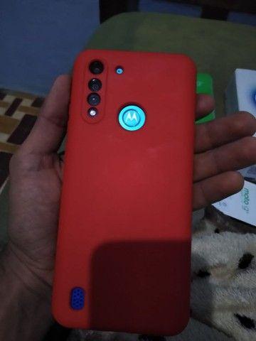 Moto G 8 Power 65gb 3 mês de uso com todos acessórios e nota fiscal. - Foto 2