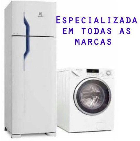 Concerto geladeira e máquina de lavar . Serviço com nota fiscal e garantia . - Foto 2