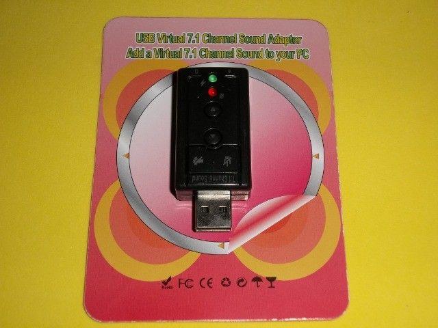 Adaptador placa de som 2 canais R$11,00 - Foto 3