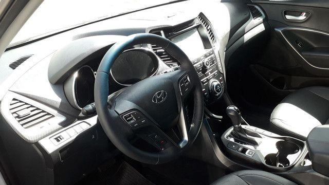 Hyundai Santa Fé 3.3 V6 2018 Top Linha 07 Lugares Impecável - Foto 7