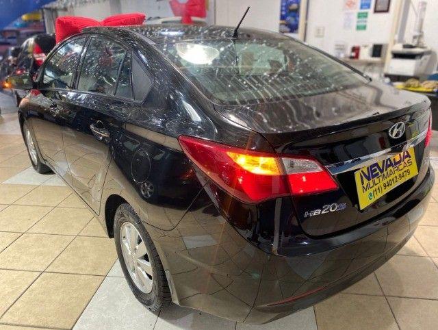Hyundai Hb20 Sedan 2015 1.6 Flex Comfort Manual Preto Estudo Troca E Financio - Foto 6