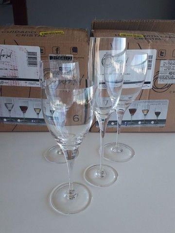 Taças em cristal oxford  - Foto 2