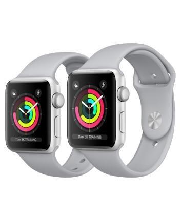 Apple Watch Series 3 38mm Silver novo e lacrado na caixa