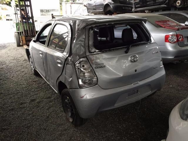 Sucata Toyota Etios para Retirada de Peças
