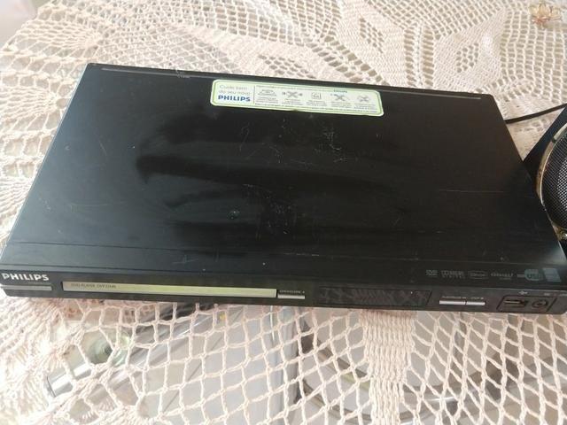 Dvd + Caixa de Som com USB