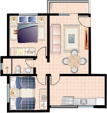 Apartamento no Uaran