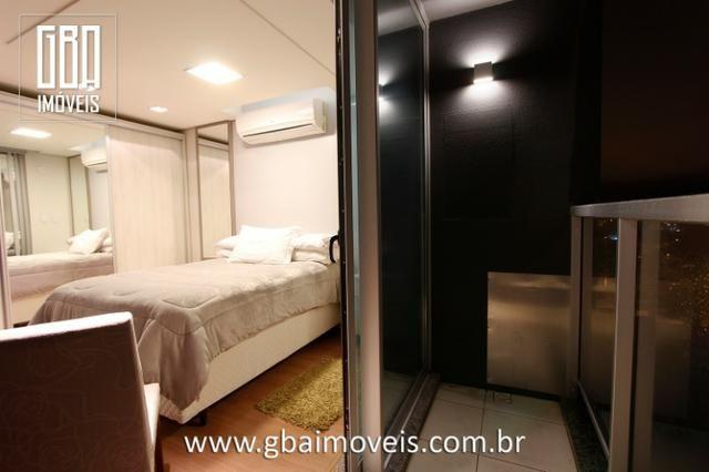 Studio Residence 100% mobiliado, 1 dorm, sacada e 1 vaga - Pelotas/RS - Foto 11