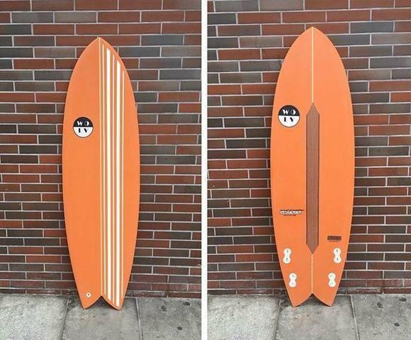 Prancha de surf - Wolf fish4