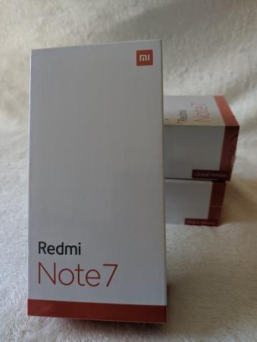 Loucura. Redmi note 7 64 GB 4 de RAM novo lacradão entrego