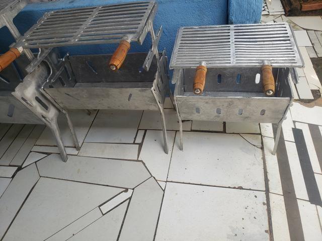 Churrasqueiras desmontável - Foto 2