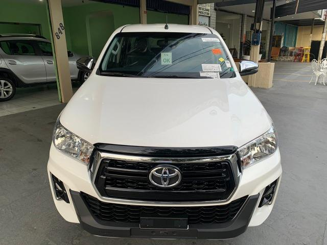 Hilux SRV 2.8 Branca 4X4 Diesel 2020 0KM