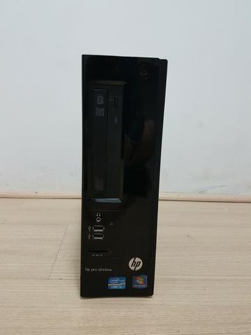 Pc Hp Pro Slim Line Core I3 - 4gb - Hd 500 -completo