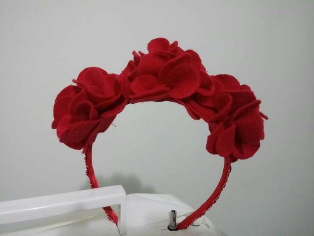 Tiara de flores - Bijouterias 0d7920a4d7c