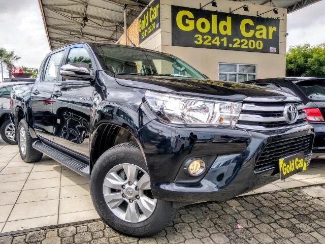 Toyota Hilux SRV 2017 ( Padrao Gold Car )