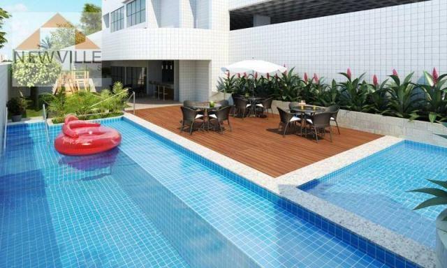 Apartamento com 3 quartos à venda, 84 m² por R$ 610.000,00 -próx.Rio Mar- Pina - Recife - Foto 12
