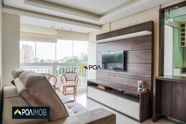 Apartamento com 2 dormitórios para alugar, 60 m² por R$ 2.652,00/mês - Cristo Redentor - P - Foto 6