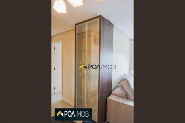 Apartamento com 2 dormitórios para alugar, 60 m² por R$ 2.652,00/mês - Cristo Redentor - P - Foto 17