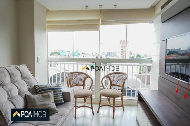 Apartamento com 2 dormitórios para alugar, 60 m² por R$ 2.652,00/mês - Cristo Redentor - P - Foto 10