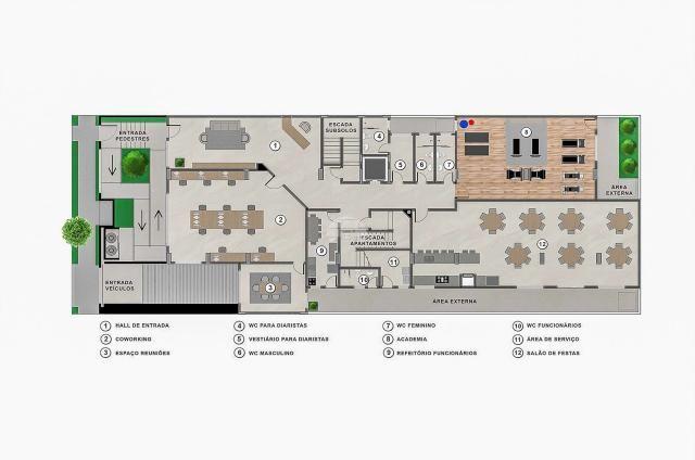 Apartamento à venda com 2 dormitórios em Jardim botânico, Curitiba cod:151130 - Foto 4