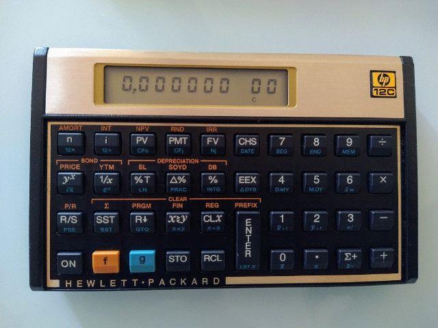 Calculadora financeira HP12c - Foto 2