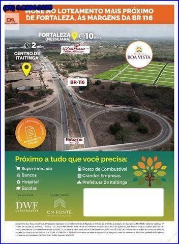 Lotes com construção liberada as margens da BR-116 Loteamento Boa Vista!! - Foto 14