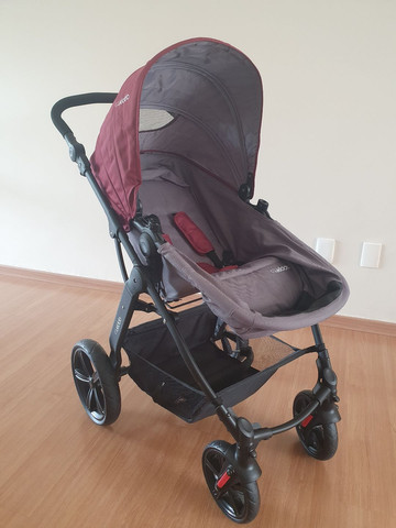 Carrinho Kiddo Galaxy + bebê conforto + base - Foto 2