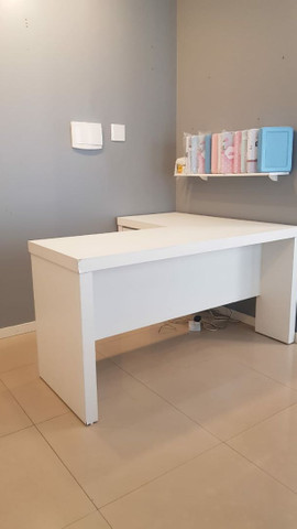 Mesa de escritório em L  - Foto 4