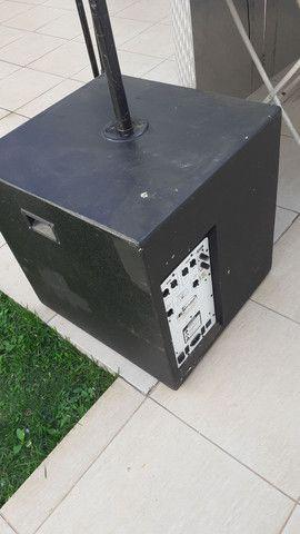 par sub ativo auto falante oversound g400