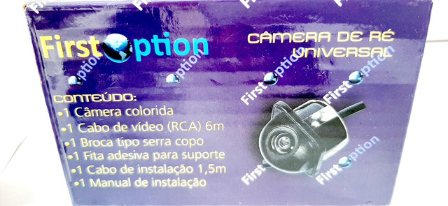 Câmera De Ré Automotiva Tartaruga C/ Imagem Colorida/noturna - Foto 5